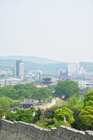 Suwon Hwaseong and Suwon city