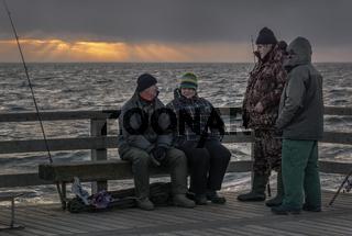 Ostsee - Abendlicher Anglerplausch