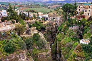 City of Ronda in Spain