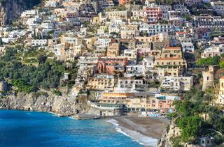 Positano, Amalfi Coast, Italy.