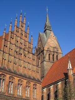Hannover - Altes Rathaus und Marktkirche