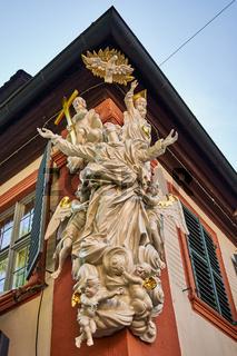 """""""Aufnahme Mariens in den Himmel"""", Bamberg, Bayern, Deutschland"""
