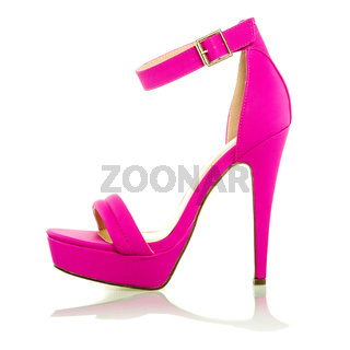 Fashionable High Heels Shoe in pink, XXXL image