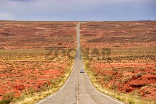 Straße zum Monument Valley