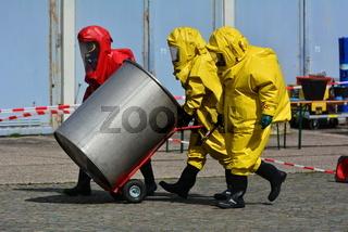 Arbeiter in Schutzkleidung
