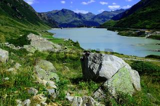 Vermunt-Stausee an der Silvretta Hochalpenstrasse, Vorarlberg