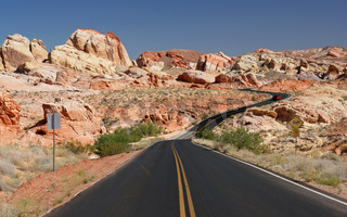 Valley of Fire - Rainbow Section / Nevada