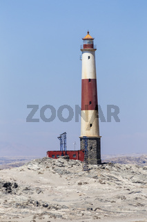 Leuchtturm am Diaz Point, Namibia, Lighthouse at Diaz Point, Namibia