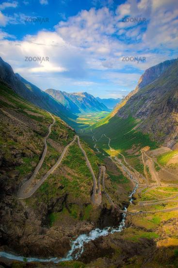 Trollstigen in Norway