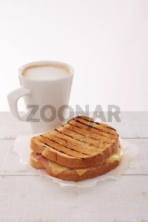 cheese ham toastie