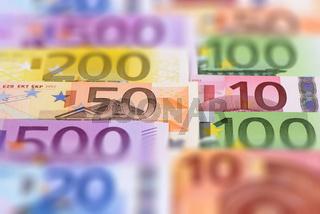 Euro Geldscheine Banknoten