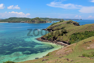 Die Bucht Tanjung Aan auf Lombok