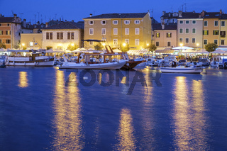 The port of Rovinj
