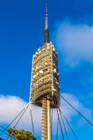 TV  tower in Barcelona
