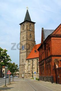 nikolaikirche in bernburg saale talstadt