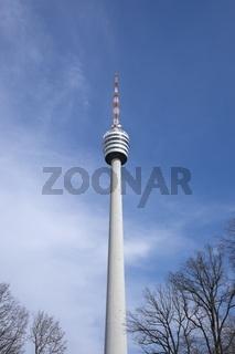 Der Fernsehturm in Stuttgart