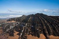 Praia do Amado - die felsige Küste der Algarve/Portugal