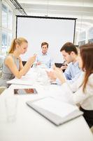 Business Kommunikation mit Smartphones