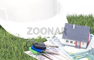 Hausbau im Grünen