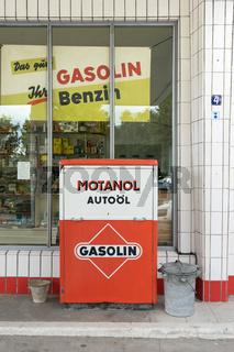 Alte Gasolin Tankstelle, Hamburg