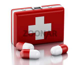 3d Pills and First Aid Kit.