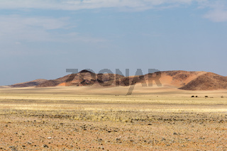 Scenery on the travel from 'namib naukluft park' to 'tiras mountains'