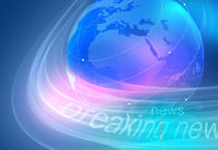 Graphical breaking news background