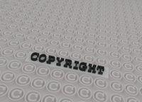 3d copyright symbols
