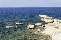 Felskueste auf Gozo, Malta