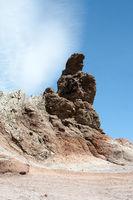 Felsformationen Los Roques im Teide Nationalpark auf der kanarischen Insel Teneriffa