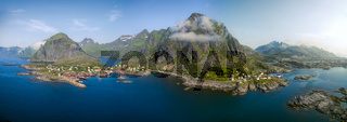 Picturesque Lofoten in Norway