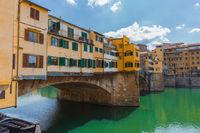 Florenz Ponte Vecchio Arno