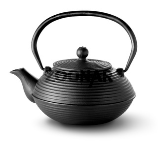 Chinese teapot isolated
