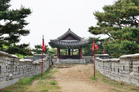 South-West Pavilion of Suwon Hwaseong called Seonam Gangnu or Hwayangnu