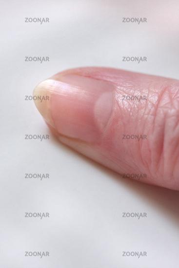 Foto Fingernagel, Anatomie der Hand, Daumen, Details Bild #8232695