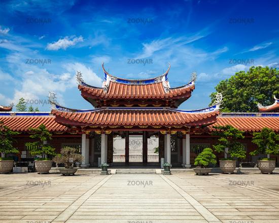 Gates of Lian Shan Shuang Lin Monastery