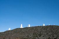 Teide-Observatorium, Sternwarte auf dem Berg Izaña, kanarische Insel Teneriffa