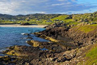 Clachtoll Bucht, Clatchtoll, Assynt, Schottland, Großbritannien