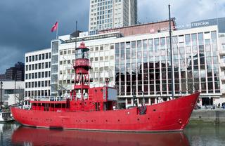 red boat Rotterdam