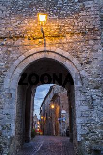 Monteleone d'Orvieto - Umbria at dusk