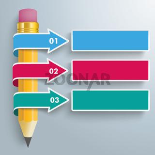 Pencil 3 Convert Arrows PiAd