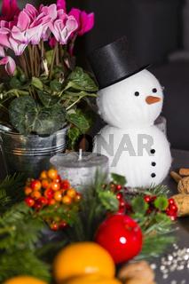 Weihnachtliches Stillleben, Christmas still life