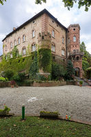 Royal Castle of Oviglio in Piedmont