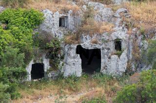 Nekropolis Pantalica Grabkammer