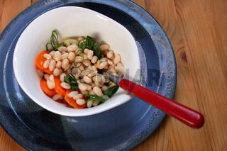 Weisse-Bohnen-Salat