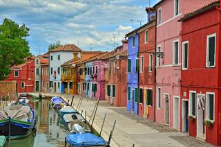 bunte Häuser - Burano - Venetien
