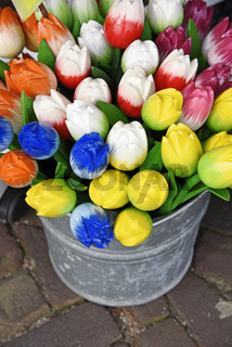 Artifical tulips