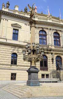 Leuchter vor Rudolfinum