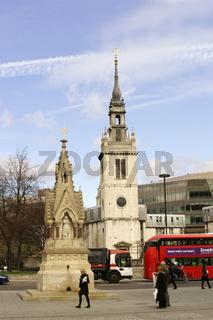 Straßenverkehr St. Pauls Churchyard