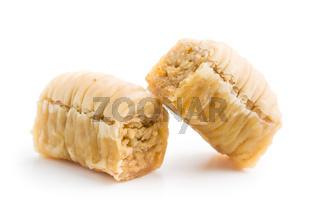 sweet baklava dessert